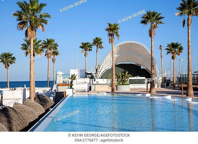 Marina Beach Club, Malvarosa, Valenica; Spain