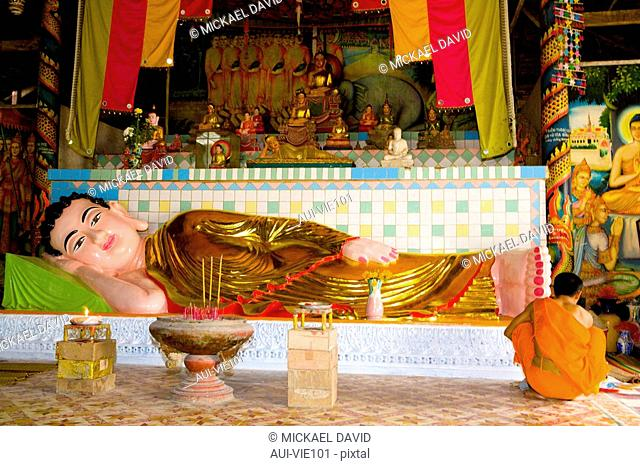 Vietnam - The South - The Delta of Mekong - Soc Trang - KhmÞre Pagoda of Chua Doi - Pagoda of the bats