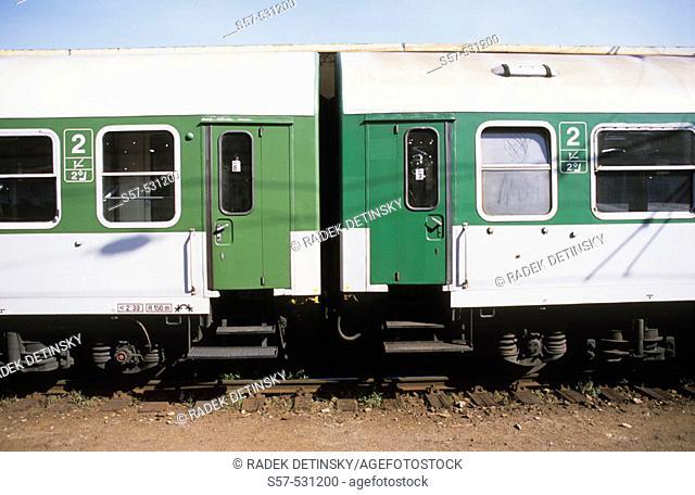 wagons, train, Czech Republic