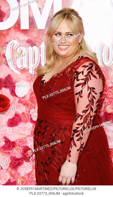 """Rebel Wilson at Warner Bros. Pictures' """"""""Isn't It Romantic"""""""" Premiere held at The Ace Hotel in Los Angeles, CA, February 11, 2019"""
