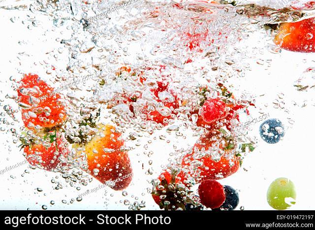 Fresh Fruit in Water