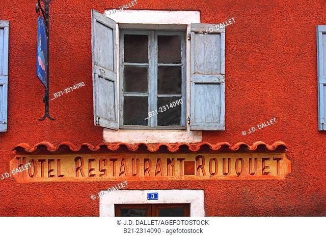 B&B, Hotel Restaurant, La Roquebrou, Cantal, Auvergne, France