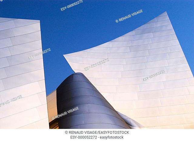 Walt Disney Concert Hall. Los Angeles. California. United States