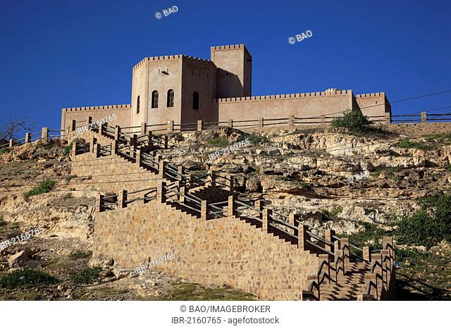 Fort Taqah, southern Oman, Arabian Peninsula, Middle East, Asia