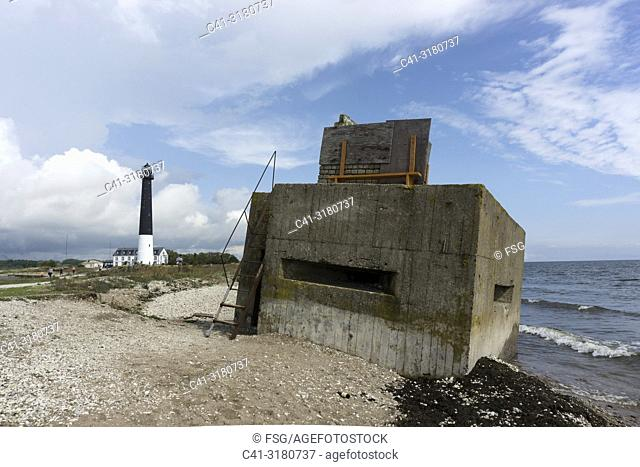 World War II bunker. Saaremaa. Estonia