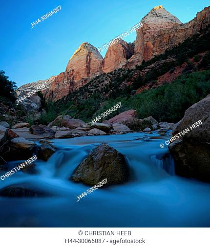 North America, American, USA, Southwest, Colorado Plateau, Utah, Zion, National Park