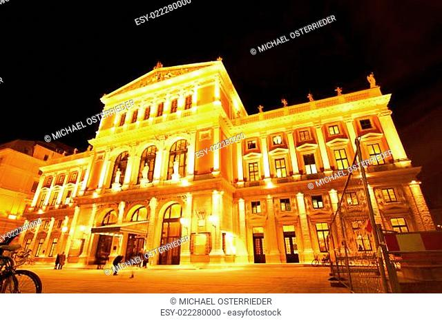 The Opera house in Vienna