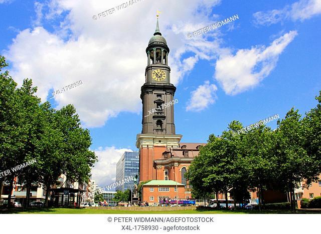 Germany, Hanseatic City Hamburg, St  Michael's Church, Michl