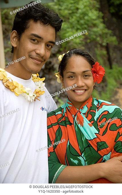 Meae Iipona, Marquesas Islands, Hiva Oa, Fench Polynesia