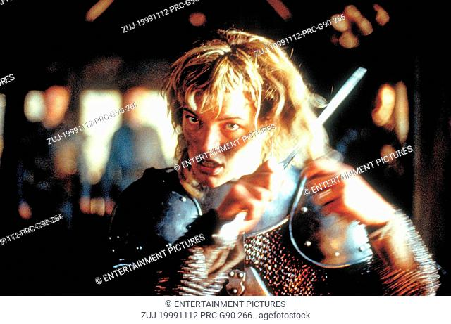 RELEASE DATE: 12 November 1999. MOVIE TITLE: The Messenger The Story of Joan of Arc STUDIO: Columbia TriStar. PLOT: In 1412, a young girl called Jeanne is born