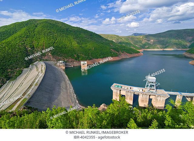 Fierza Reservoir, Albania