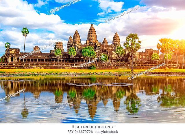Angkor Wat Temple, Siem reap in Cambodia