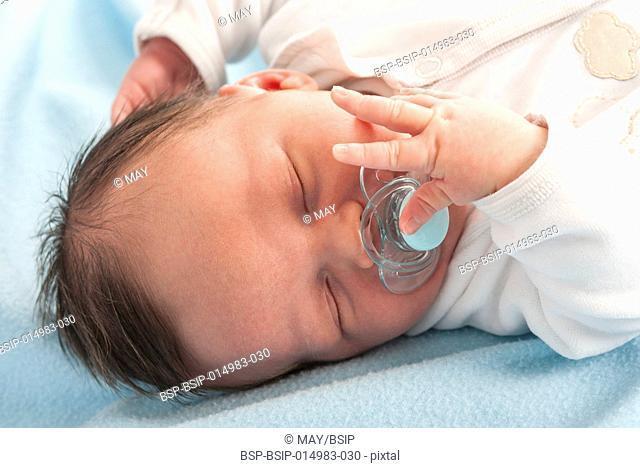 Baby boy, 2-week-old