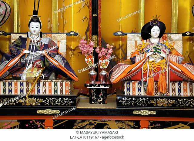 Hinamatsuri Festival,The Japanese Doll Festival,is held on March 3rd. This is a day to pray for young girl's health and happiness