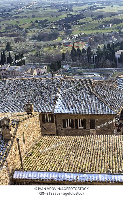 Vintage house, Assisi, Perugia, Umbria, Italy