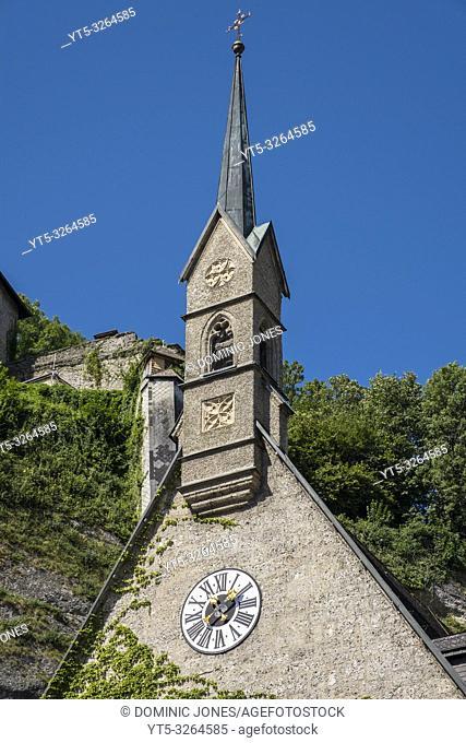 St. Blaise's Church in the Old Town of Salzburg, Austria, Europe