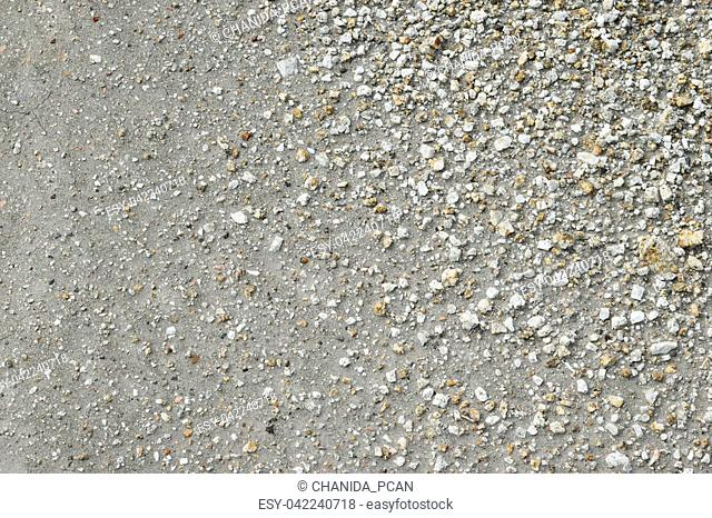 Brown ground and stone surface background ,Nature style and empty space for text