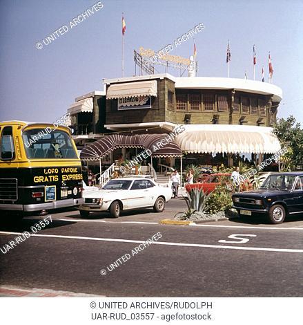 Eine Reise zur Vulkaninsel Teneriffa, Spanien 1970er Jahre. A journey to the volcanic island Tenerife, Spain 1970s