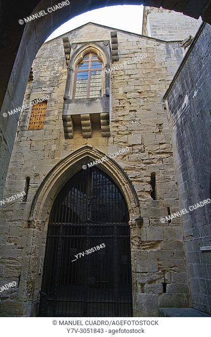 Abadía del Poblet winery, Denominación de origen Conca de Barberá, Northern Tarragona Province, Catalonia, Spain
