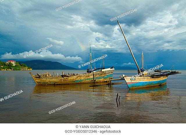 Harbour at Hell Ville, Nosy Be Island, Madagascar