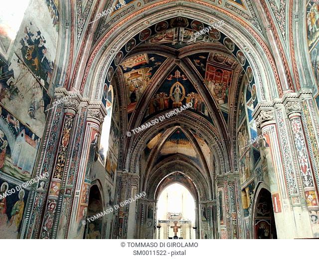 Salento, Puglia, Galatina Locality, Santa Caterina D'Alessandria church, Fresco