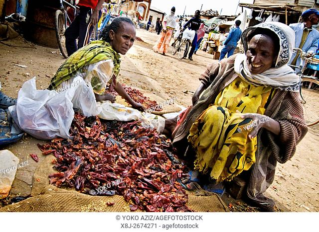 Medebar market, Asmara, Eritrea