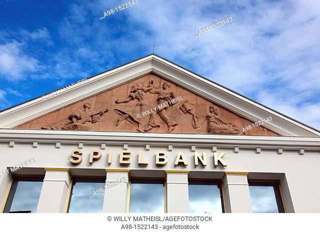 Casino Spielbank at seaside resort Heringsdorf, Usedom, Mecklenburg-Vorpommern, Germany, Europe