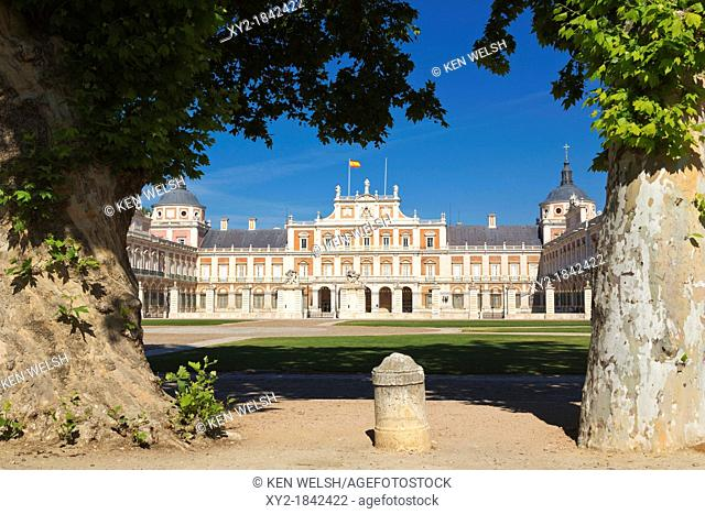 Aranjuez, Comunidad de Madrid, Spain  The Royal Palace