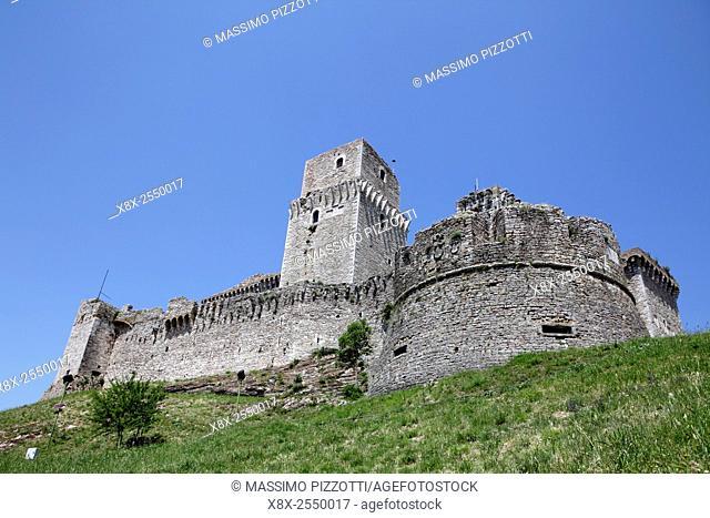Rocca Maggiore in Assisi, Italy