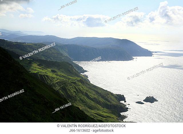 cliffs in Vixie Herbeira, the highest in Europe