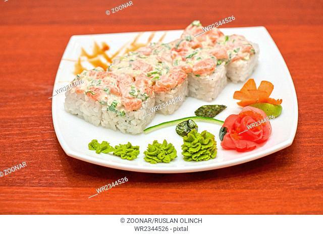cream cheese salmon rolls