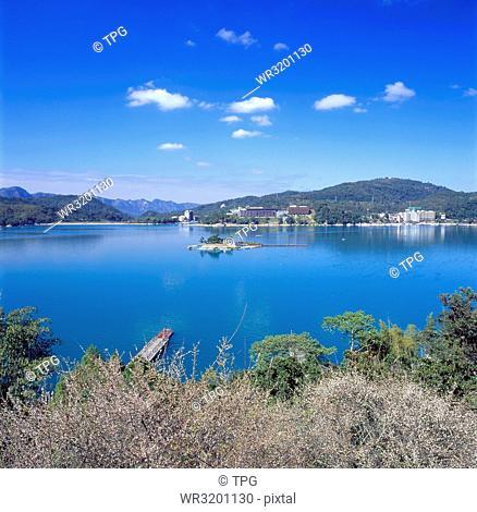 Sun Moon Lake--Plum flower