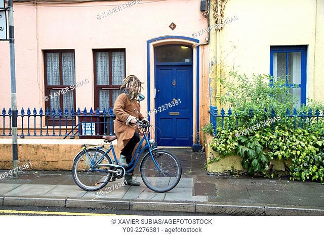 Man with dreadlocks, Cork, Munster province, Ireland