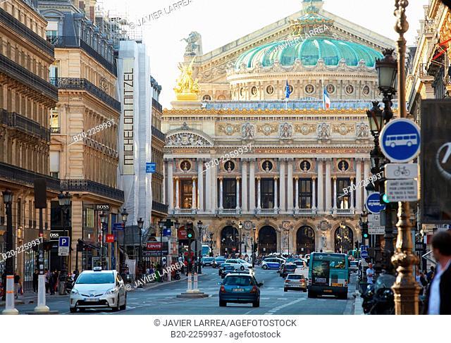 Opera Palais Garnier. Paris. France