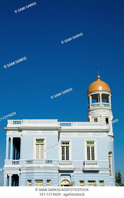 Hotel and restaurant in a restored building in Cienfuegos, Cuba