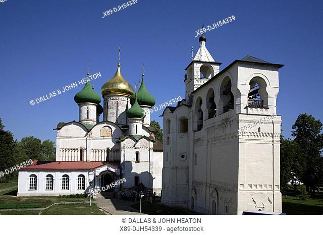Russia, Suzdal, St Euthymius Monastry of the Saviour, Transfiguration Cathedral