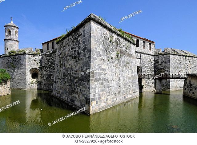 Castillo de la Real Fuerza.Habana Vieja district.Havana.Cuba