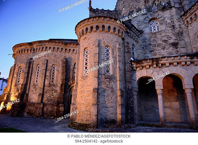 Church of Vera Cruz in Carballiño, Orense, Spain