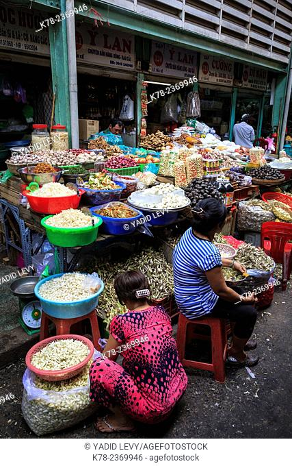 Binh Tay Market, the Central Market of Cho Lon in District 6, Ho Chi Minh City (Saigon), Vietnam
