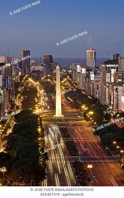 9 de Julio Avenue, Buenos Aires, Argentina (March 2008)
