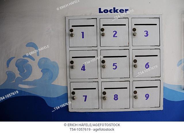Locker before go to Swiming Pool