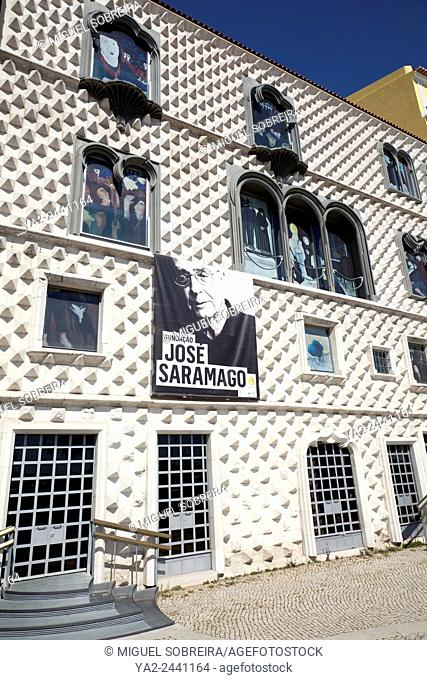 Saramago Foundation in Casa dos Bicos (House of Spikes) in Lisbon - Portugal