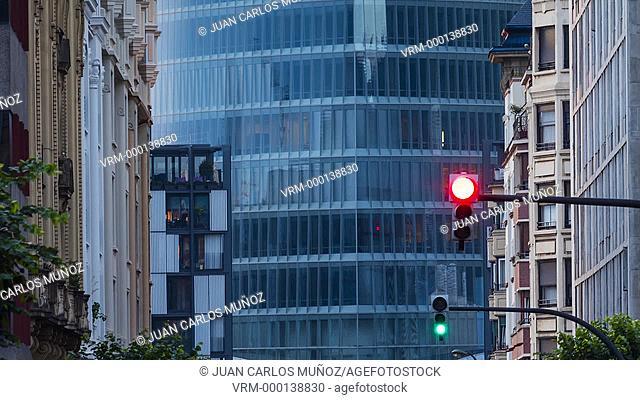 Iberdrola Tower in Bilbao