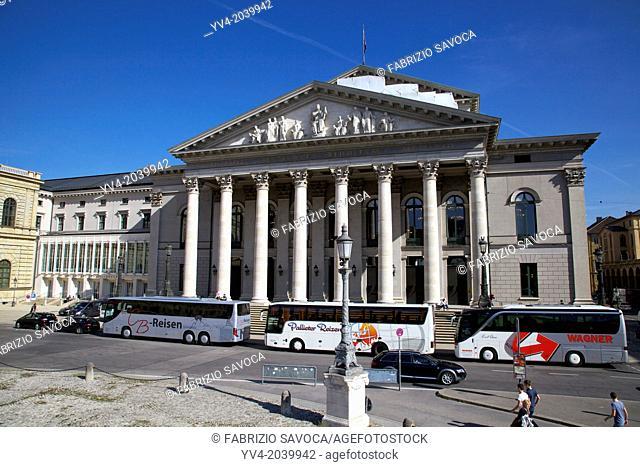 Bavarian State Opera, Munich, Bavaria, Germany