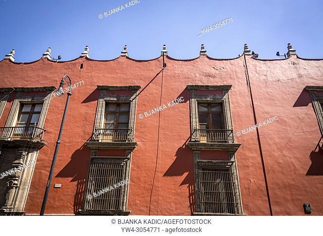 Museo de la Secretaría de Hacienda y Crédito Público, an art museum located in the historic centre located in the former Archbishop's Palace, Mexico City