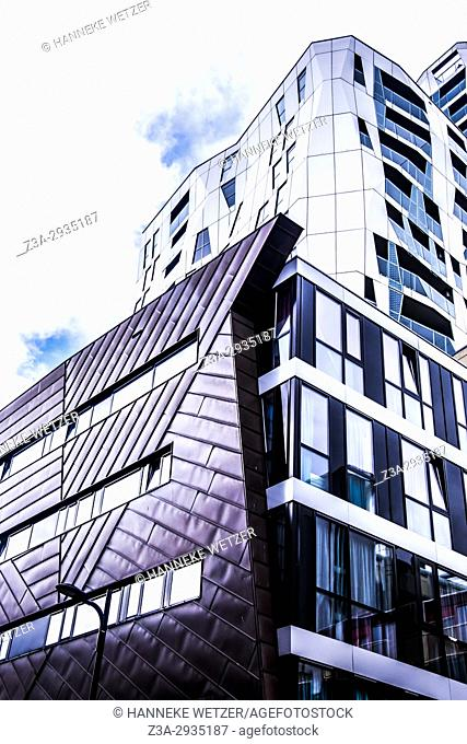Modern architecture in Rotterdam, the Netherlands, Europe