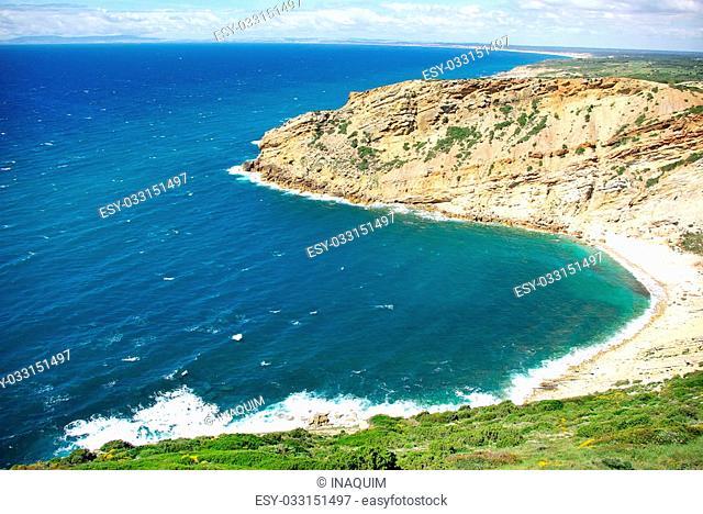 Cape Espichel, Atlantic coast of Portugal