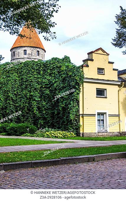 Traditional house in Tallinn, Estonia