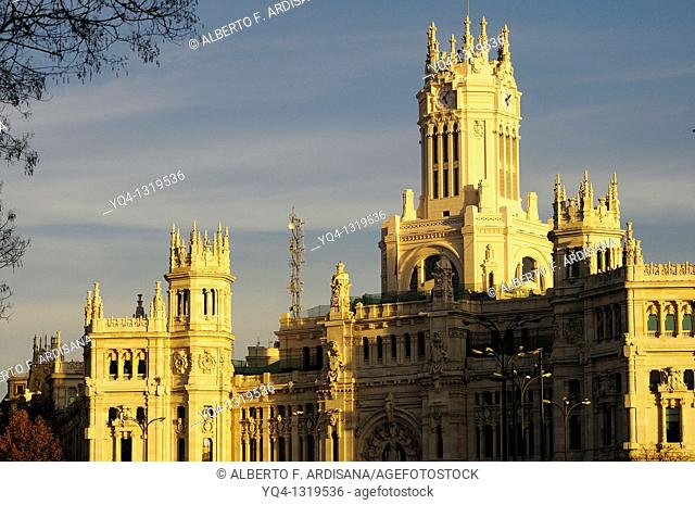 Post Office, Current City of Madrid, Spain