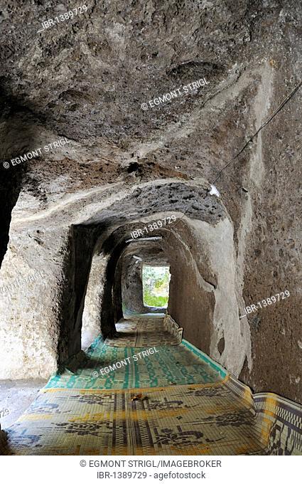 Historic rock church Adadi Mariam, Oromia, Ethiopia, Africa